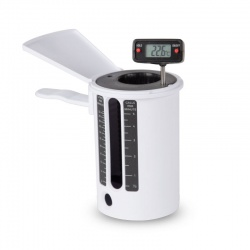 Flow Cup with Digital Thermometer