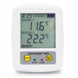 WiFi Logger ThermaData TD2TC - two channel type K or T thermocouple logger