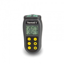 ThermaQ 2 four channel thermocouple thermometer
