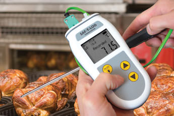 Saf-T-Log HACCP thermometer